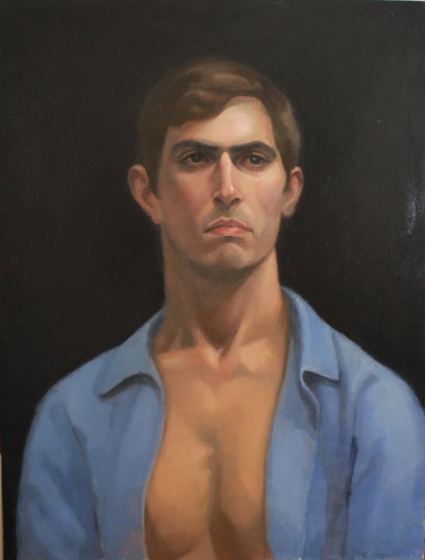portrait of J